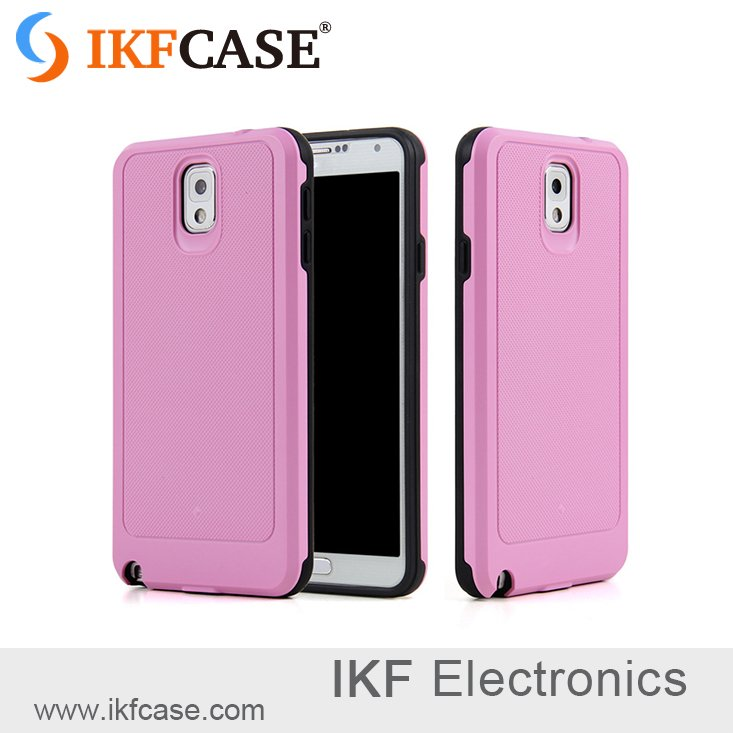 Unique design mobile Accessory ,cell phone PC and TPU mobile cover for Samsung Note 3