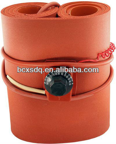 UL,CE,ISO 110v/220v Silicone Rubber Thermal Band Drum Heater Plastic Oil/WVO Oil Biodiesel Plastic Metal Barrel