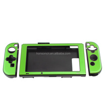 Popular Selling Green Anti-slip Aluminum Full-Body Shell Protective Case Cover Skin for Nintendo Switch Console