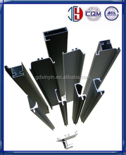 Pull Handle ; Edge banding frame aluminum 6063 Series Alloy Profiles For Kitchen Cabinet Door