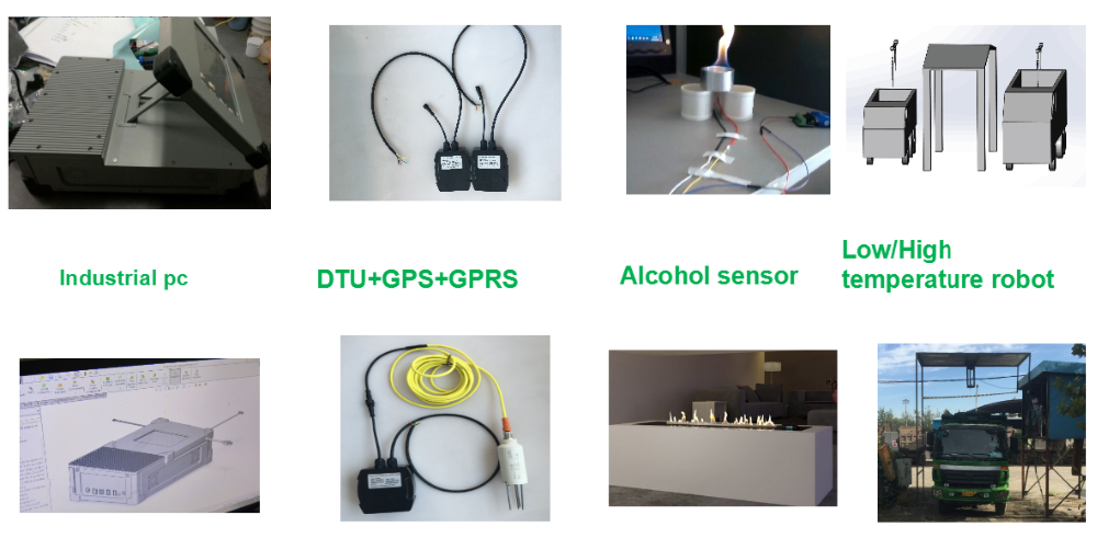 2017 no drill hole ultrasonic level sensor for tank level measurement with wireless to iot platform or gps tracker