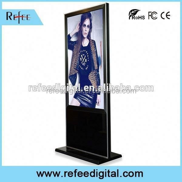 32/42/55/65inch ipad style/ stright corner floor standing indooor led commercial advertising display screen