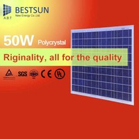 50W mini Folding Solar Panel With Reduce-down Chip Low Price Mini Solar Panel/10-350W PV Solar Panel Plastic Frame