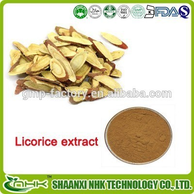 Organic herbal licorice extract powder /Glycyrrhiza herbal Extract/Glycyrrhizinic Acid 5%-98%
