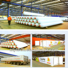Hot Sale CNG Jumbo Tube Skid 40 Feet Container Semi Trailer