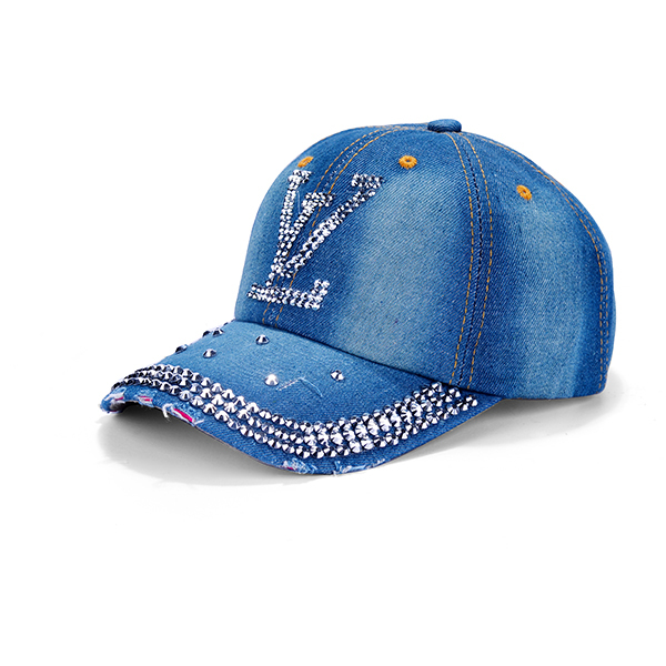 Fashion Design Denim Febric Hats For Sale
