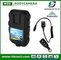 Dual HD 1080P Night vision waterproof laser indicator body worn camera in CCTV camera ir body cameras for law enforcement