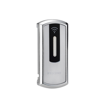 Wholesale electronic cabinet handle lock wireless RFID locker door lock with <strong>key</strong> for wardrobe doors