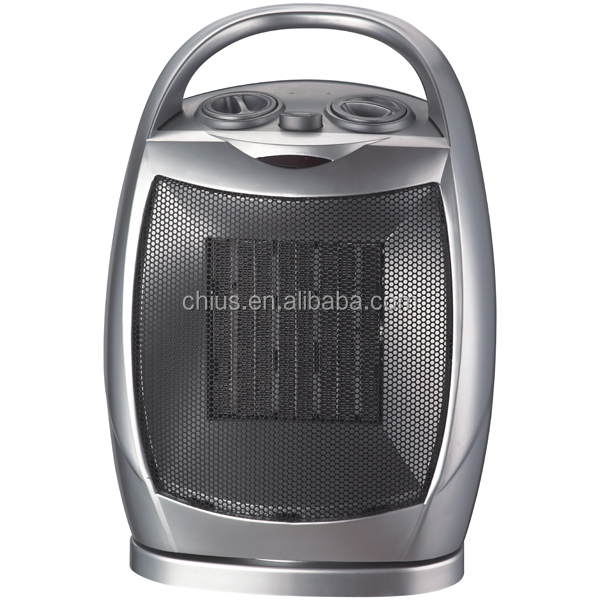 Oscillating Ceramic Portable Electric Space Heater with Adjustable Thermostat