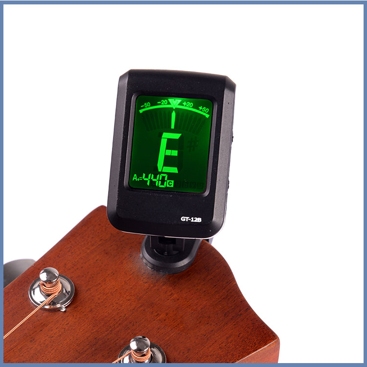 Guitar tuner guitar accessory clip on tuner