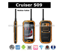 4.3inch android 4.2 gps wifi wcdma best waterproof cell pohone