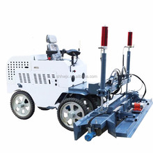Ride on road bridge concrete vibrator laser leveling machine