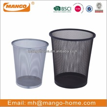 Small open top mesh office waste basket