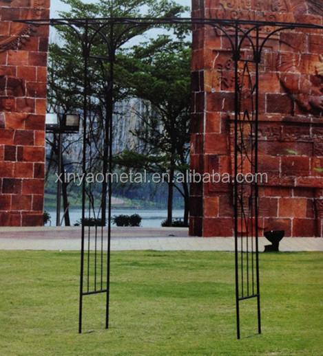 Metal Garden Arch Designs Garden Arch With Flat Top Garden Flower