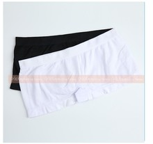 Seamless Sexy Virgin Girls Satin Polyester White Panties