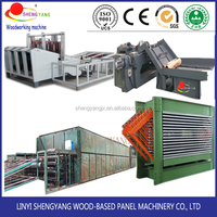 complete plywood production line & plywood making machinery