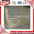 advanced processing Wire mesh storage cage for warehouse