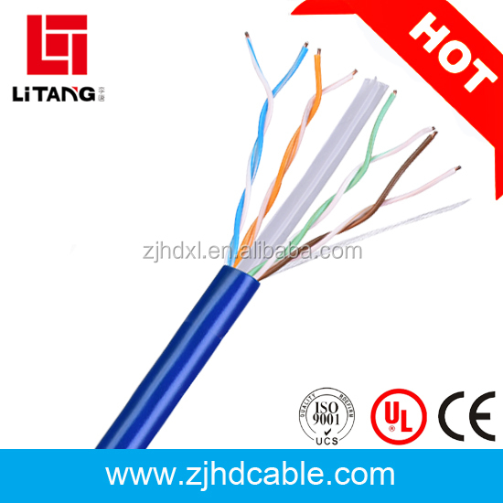 2017 HOT SALES factory price and high quality utp ftp BC CCA cat6 cable network cable