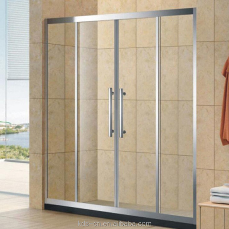 modern house New products Tempered Glass Bathroom Shower Sliding With Door