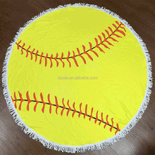 Dora Accessories 2017 Cheapest Microfiber Round Beach Towel for Promotions