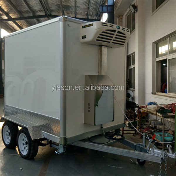 mobile cold storage , mobile cold room for chicken , movable portable mobile cold room