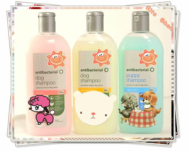 killing flea pet care shampoo series with private label