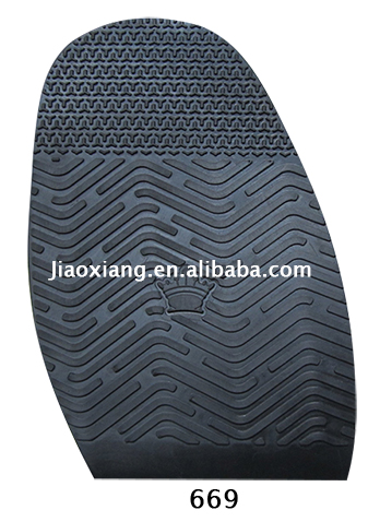 Antiskid Half Soles 669,Rubber Materials Shoe Soles for Shoes Repair