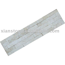 Natural culture slate crushed white stone paving tile