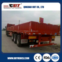 31 tons cargo trailer motorcycle/ Cargo with sidewall trailer