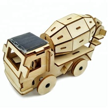 Kids Solar Car 3D Wooden Educational Puzzles
