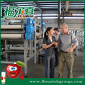 Automatic apple concentrate juice producing line
