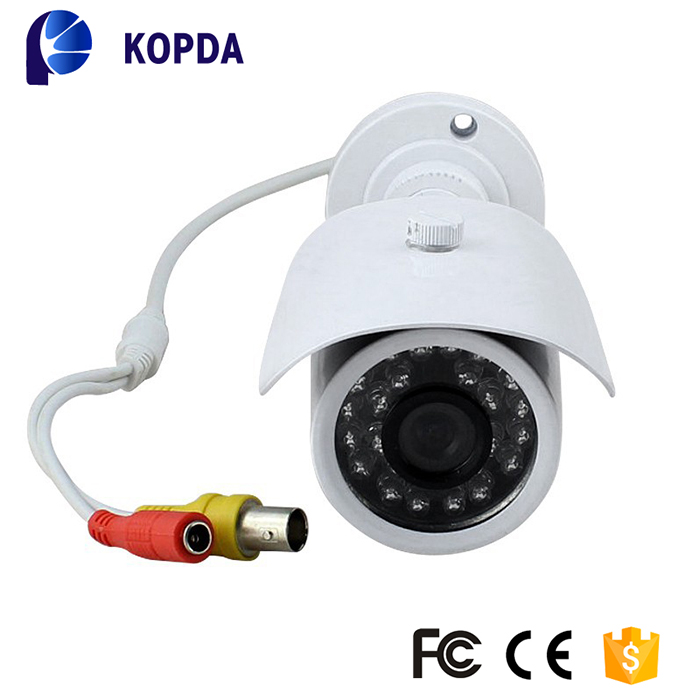 IP66 waterproof ccd infrared ir sony analog bullet cctv camera
