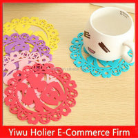 New arrival Chinese style Fu words silicone insulation pad non-slip mat coasters