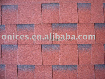 Red Laminated roofing tile