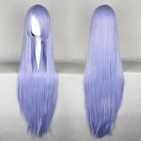 Top Quality Cartoon Figure Curly Sexy Women Vocaloid Miku Heat Resistant Synthetic Cosplay Blue Wigs