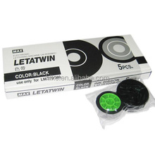 Compatible MAX ink ribbon LM-IR300B for Max Letatwin Electronic Lettering Machine LM-370/380/390