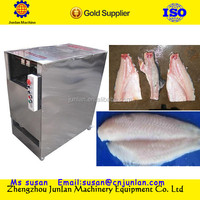 stainless steel easy use tilapia fish scaling gutting removal fillet cleaning machine
