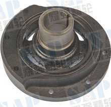 Crankshaft Pulley Engine Harmonic Balancer Solid; Externally Balanced