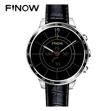Latest Finow Smart Watch Android 5.1 3G Wifi Bluetooth With Camera SIM / TF Card Q7 Wristwatch For IOS and Android Mobile Phone