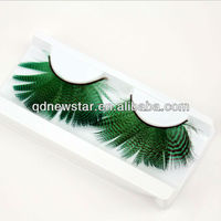 Fancy feather party Thick Long False Eyelashes