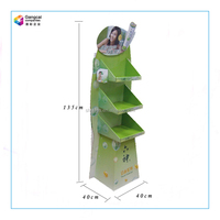 Promotional Cosmetics Floor Standing Display Units