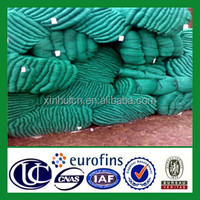 High quality strong plastic recycle fish drying net weaving