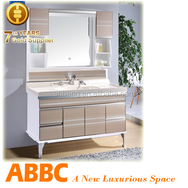 pvc and ceramic tona bathroom vanity top quality model no.A-255a