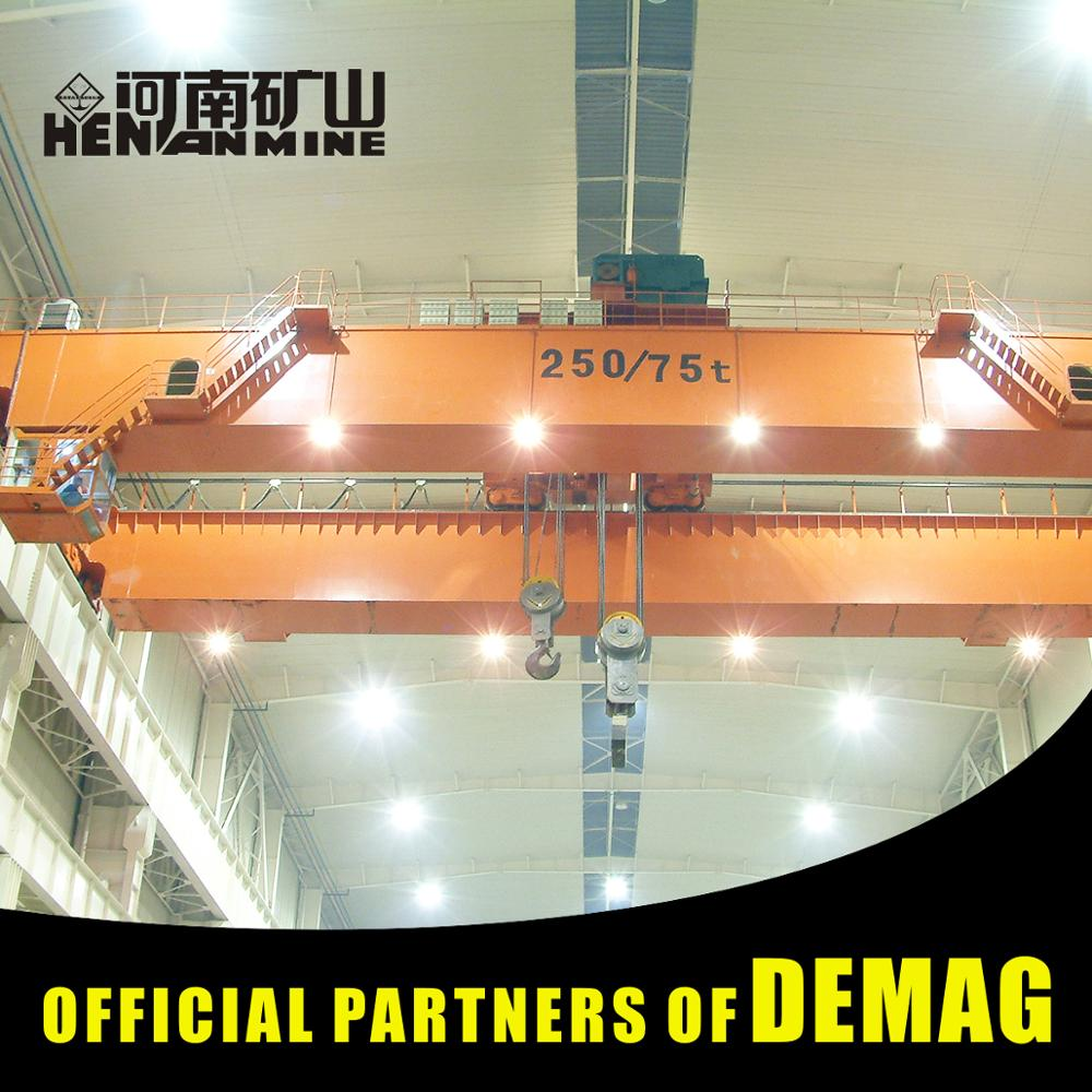 40 Ton Girder Launching Overhead Crane Manufacturer For Steel Mill
