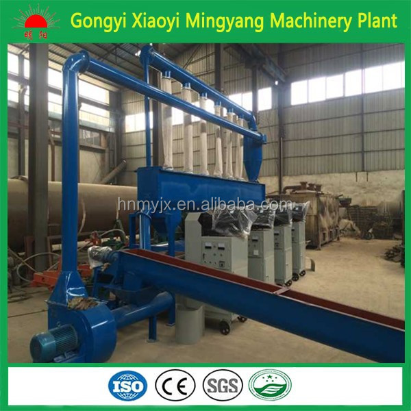 High capacity with CE ISO wood rice husk homemade briquette manufacturing machine