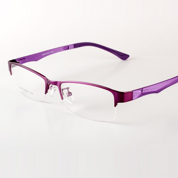 Buy Slim Ultra Light Lady and Gentlemen Glasses Frames Half Box Eye ...