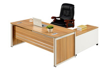 hot selling melamine table l type wooden office desks