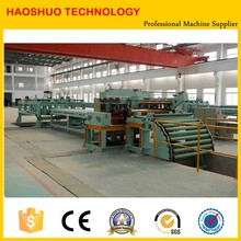 steel cold rolled slitting and coil rewinder machine