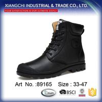 2017 Classic High Top Winter Boots Genuine Cow Leather Boots for Men Women