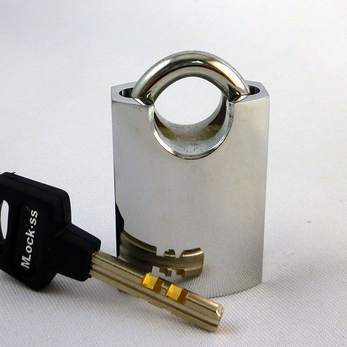 Bright Appearance Brass Padlock